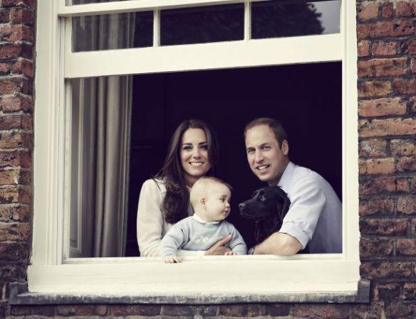 George & parents