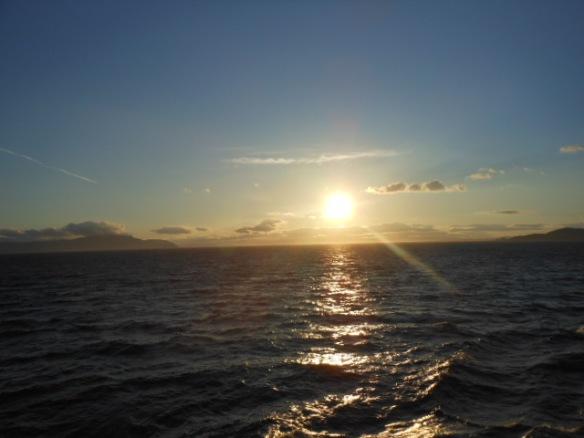 Scottish eve- Irish morn