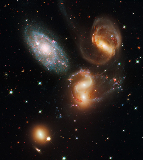 dancing galaxies