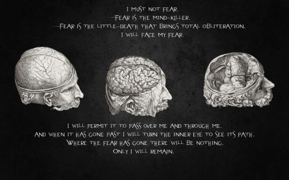 mantra against fear