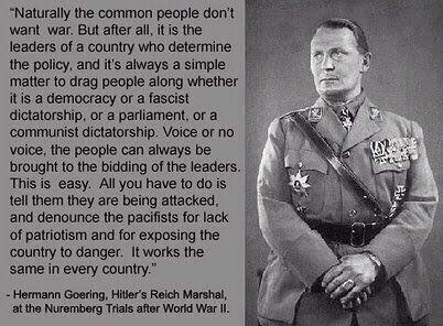 Goering sez