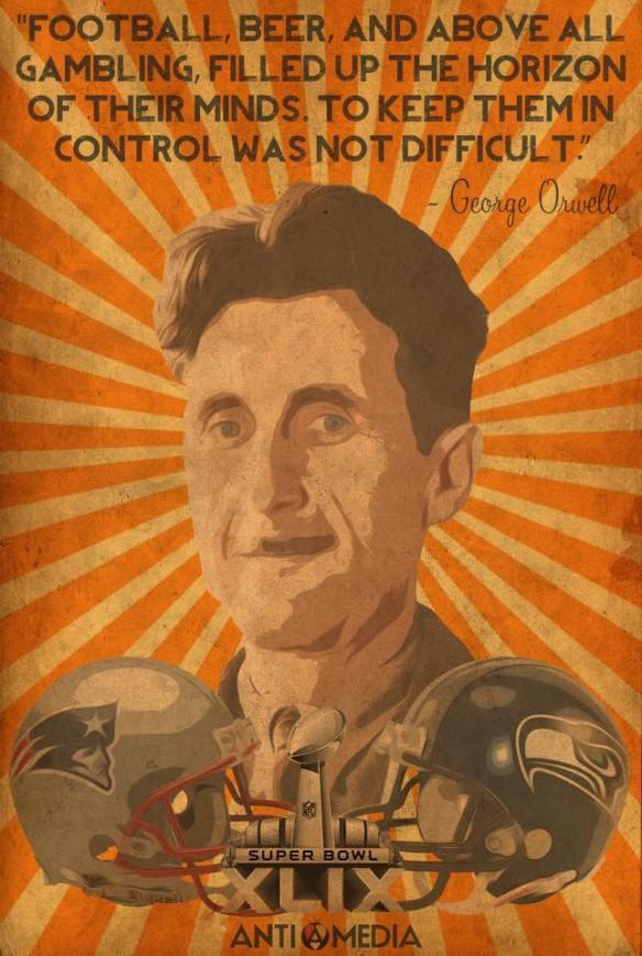 Orwell on football