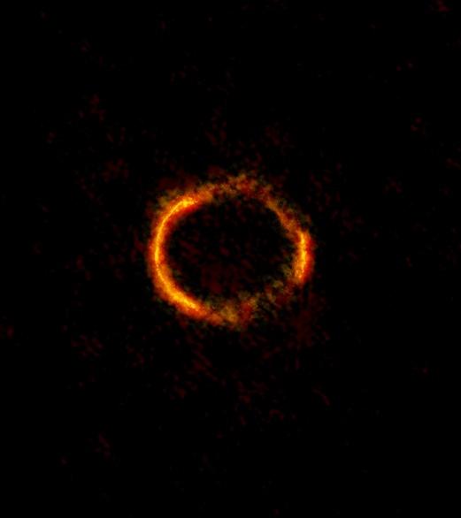 gravitationally-lensed-galaxy-SDP81-ALMA -NRAOESONAOJ-B Saxton NRAOAUINSF
