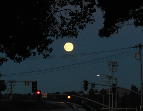 Moon over Vallejo