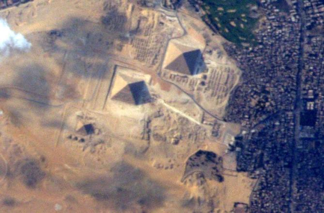 pyramids from space terry virts