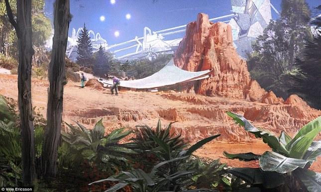 Mars colony2