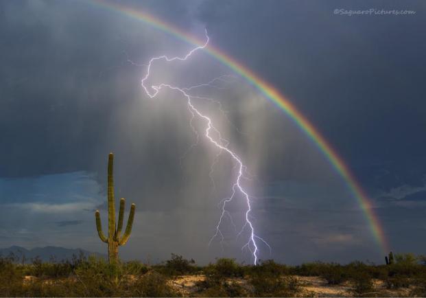 rainbow lightning-saguaropicscomviagizmodo