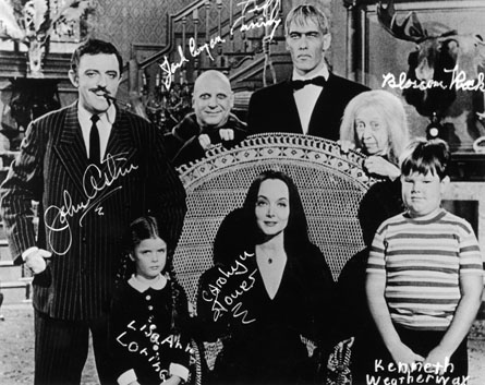 the addams family tv series
