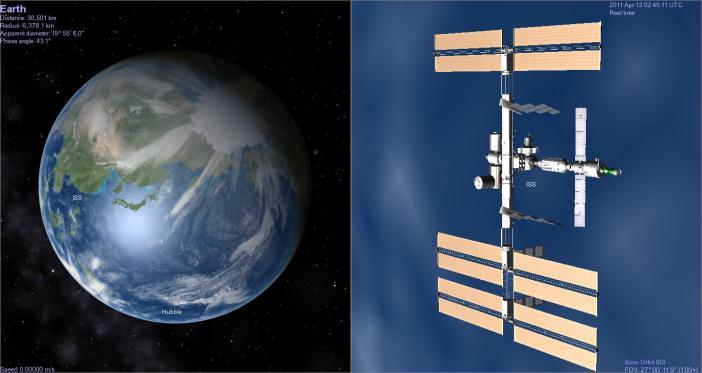 Earth-ISS