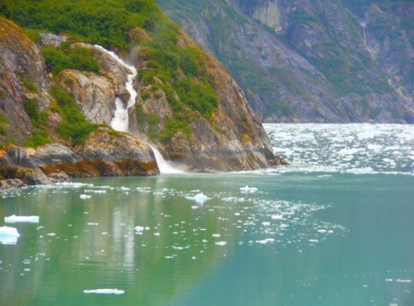 tracy arm glacier melt