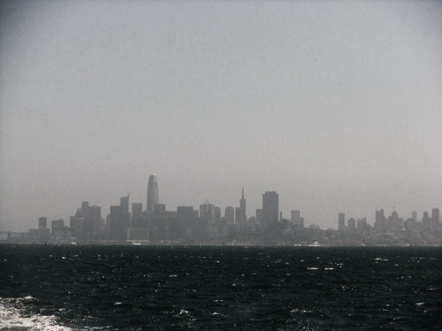 hazy bay